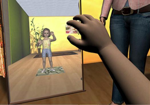 The World Looks Bigger Through A Virtual Child's Eyes