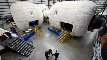 Stay In An Inflatable Space Hotel