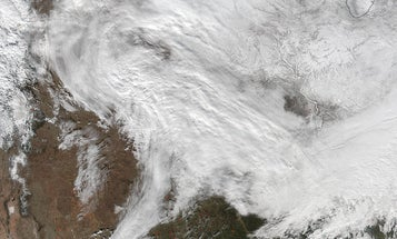 See The Huge East Coast Snowstorm From Space