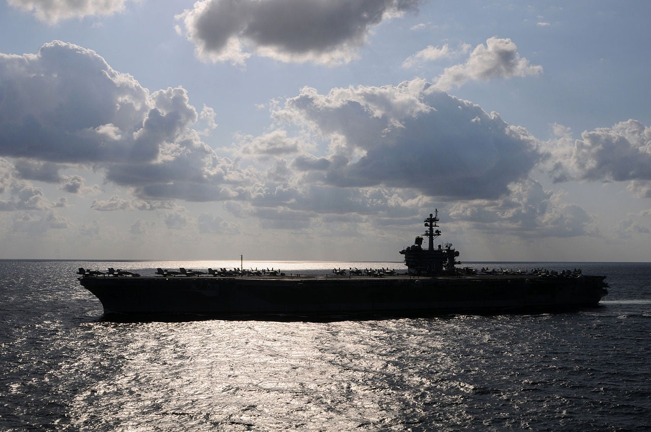 Navy Puts First Drone Command On An Aircraft Carrier