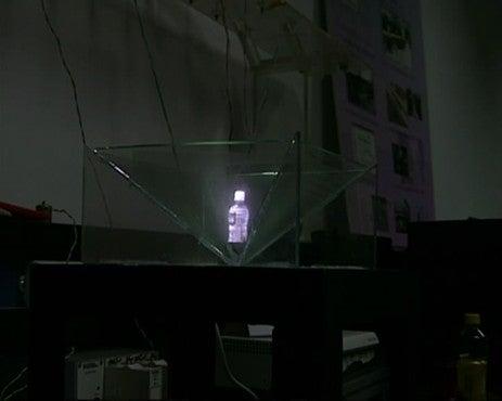 Students' Innovative 3-D Vision System Wins Prize
