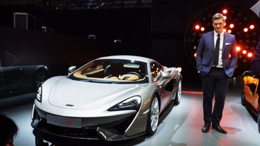 2016 McLaren 570S Coupe at the New York International Auto Show