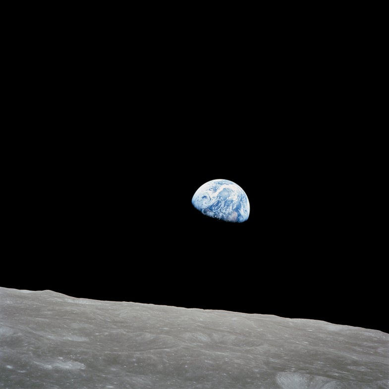 Here's What Christmas Looks Like on the Moon