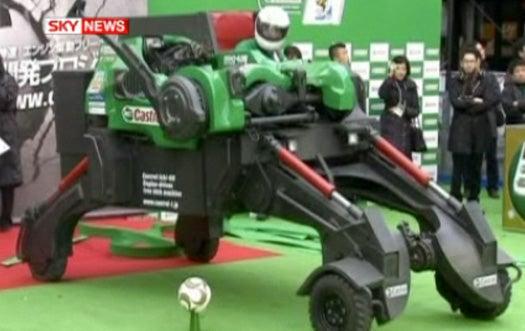 A Free-Kicking 'Bot That Takes 128 MPH Shots