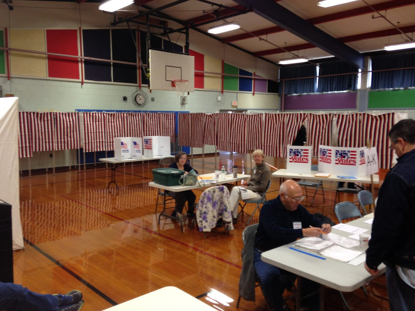 Here's What Happens When Computers Fail At Your Polling Place