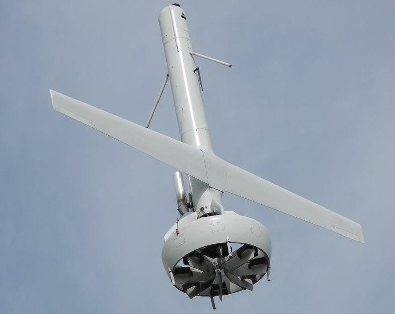 V-Bat Drone In Flight