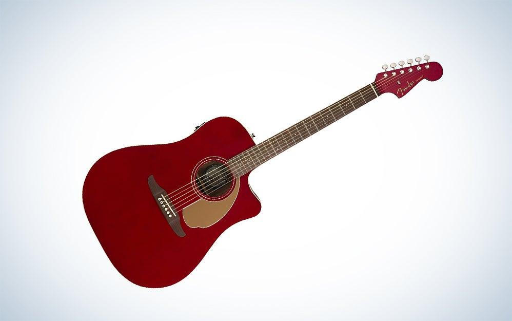 Fender California series acoustic guitar