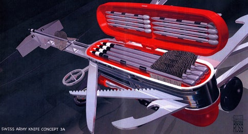The Ultimate Swiss Army Knife?