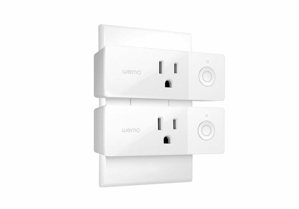 Belkin WeMo Mini Smart Plug review double