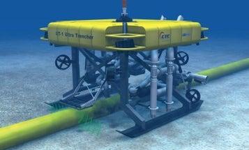 Massive Underwater Ditch-Digging Robot