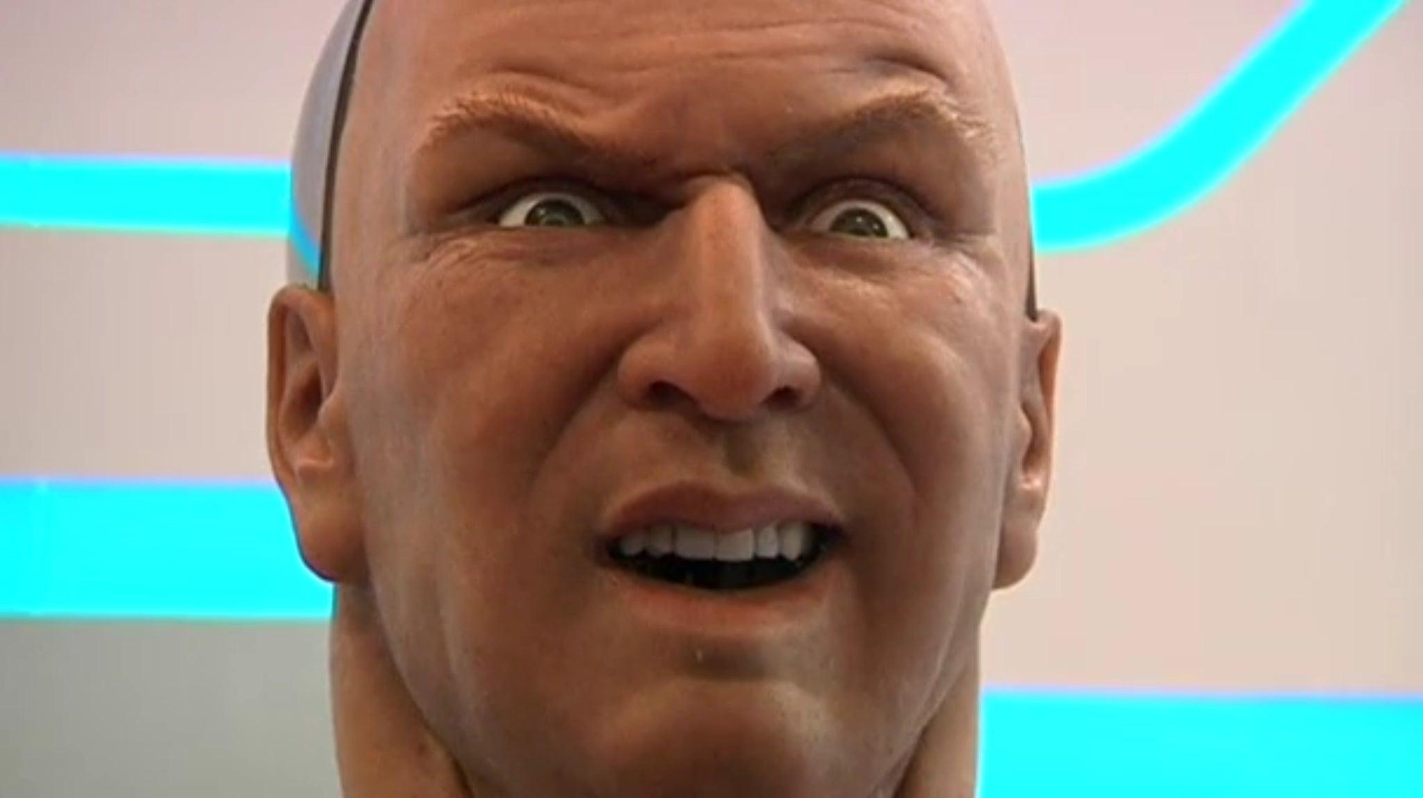 Creepy Robot That Imitates Facial Expressions May Soon Greet You At Hotels