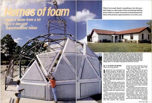 Homes of Foam: March 1987