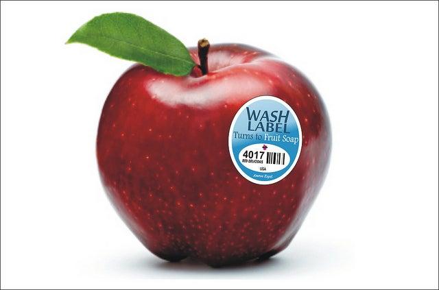 Amron Experimental Vanishing Fruit Wash label