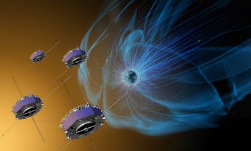 A Magnetic Explosion In Space, Seen Up Close For The First Time