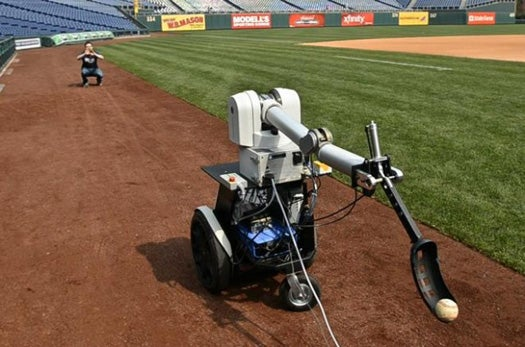 Video: Robot Will Toss the First Pitch At Today's Phillies-Brewers Game