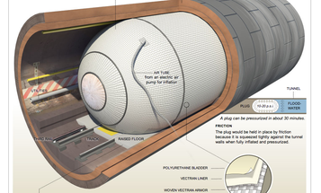 DHS Is Experimenting With A Huge Inflatable Plug To Stop Future Flooding Of Transit Tunnels