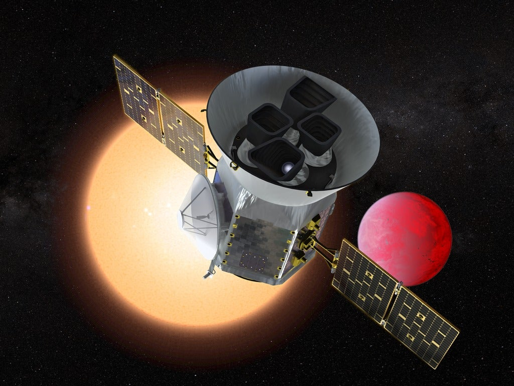 TESS in space