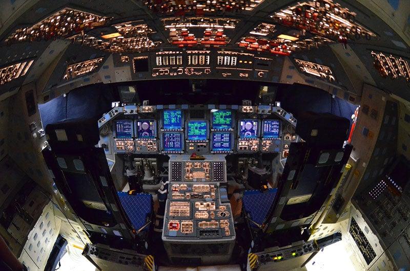 A Rare Final Look Inside Space Shuttle Atlantis