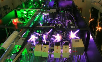 Laser Beam May Have Set Intensity Record