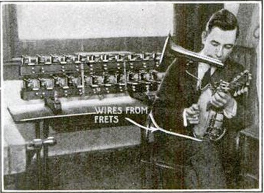 One-Man Orchestra, July 1922