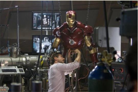 Tony Stark's Iron Man Dream Lab