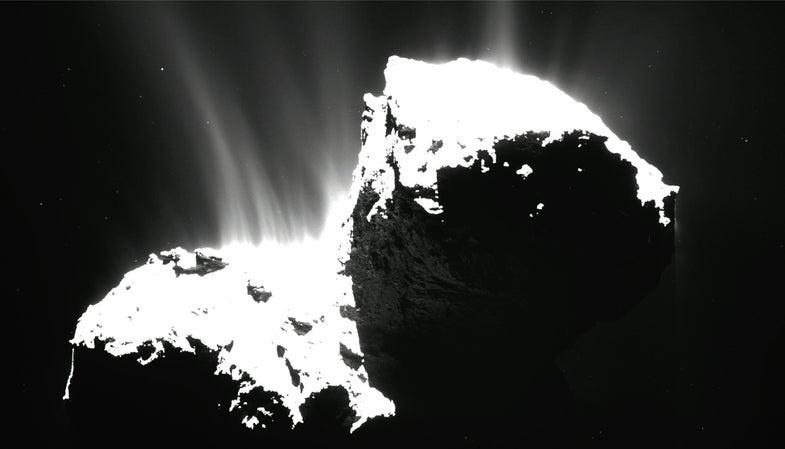 Rosetta Spacecraft Will Orbit A Comet For Nine Extra Months