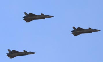 China's stealth fighter may be getting a new engine