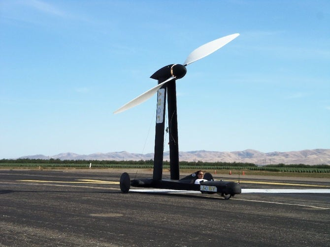 Wind-Powered Car Travels At Twice the Speed of the Wind