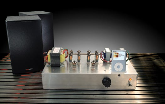 How to Build a Sweet-Sounding Tube-Amp iPod Dock