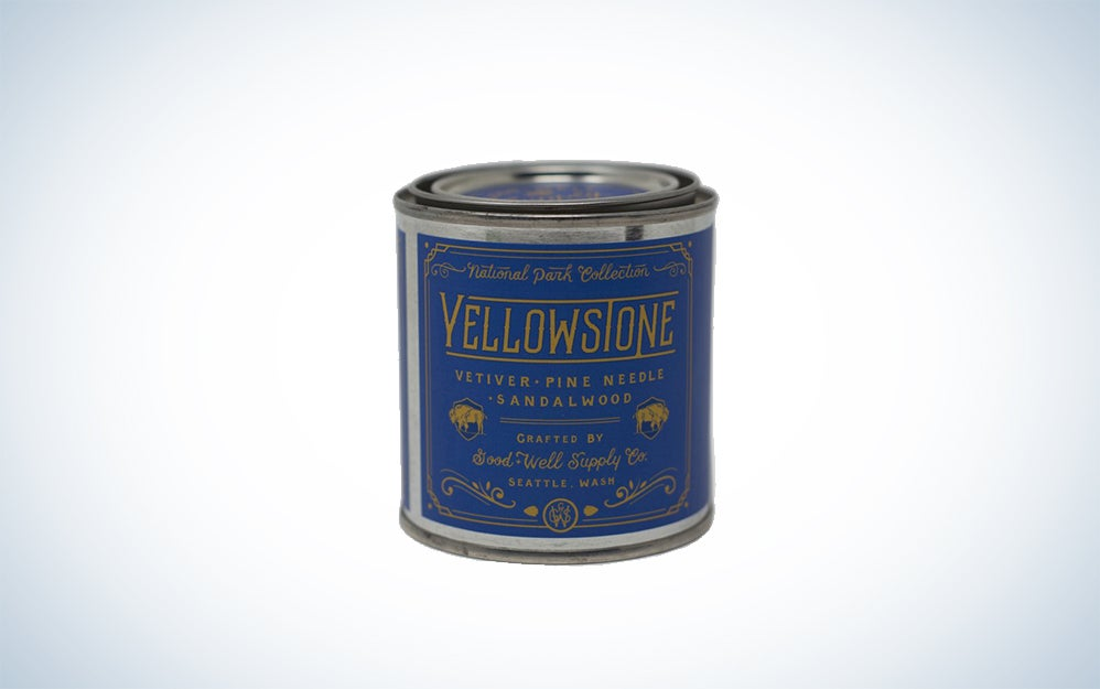 Good & Well Supply Company Yellowstone Park candle