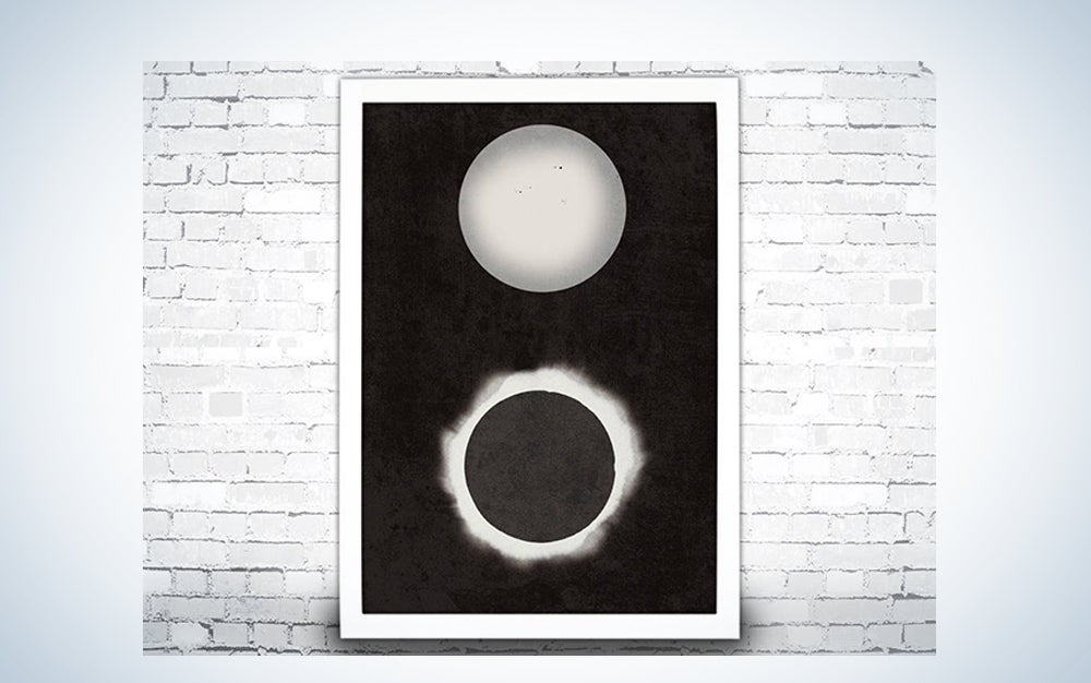 1890 Solar Eclipse Print
