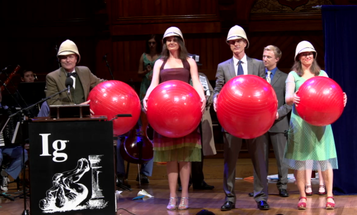 The 2013 Ig Nobel Prizes: Drunk People Feel Sexy, And More Of The Year's Silliest Science