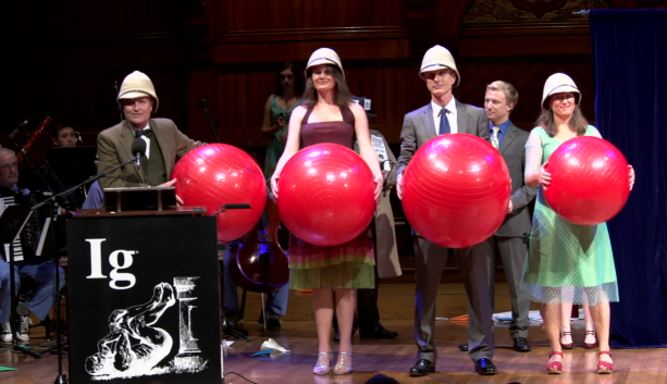 Watch The Ig Nobel Prizes Live Here