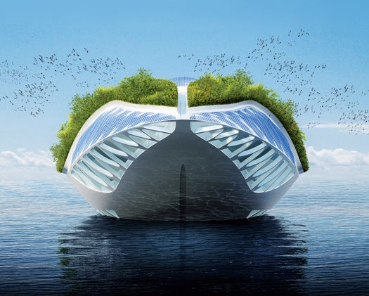 The Future of Green Architecture: A Floating Museum