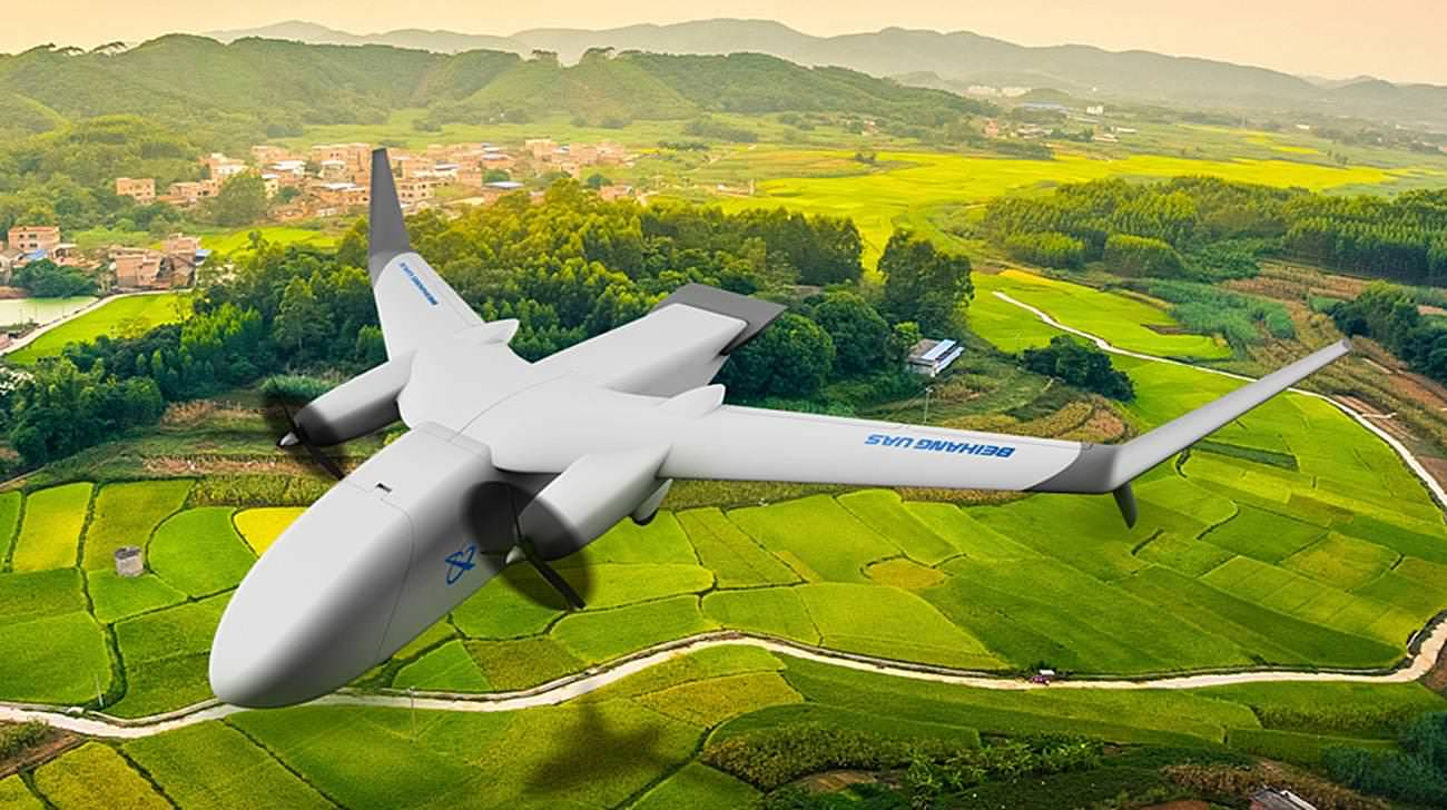 Beihang Unmanned Aircraft System Technology Alibaba Cainaio UAV Cargo Drone