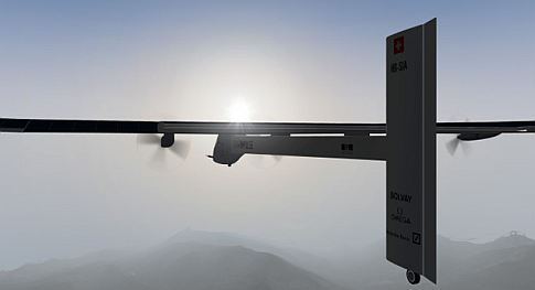 Watch Live As This Solar-Powered Plane Embarks On A Flight Across The U.S.