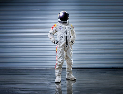 The Suit That Will Help Felix Baumgartner Withstand A 120,000-Foot Free Fall