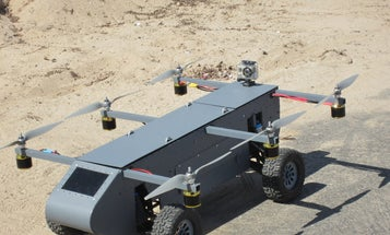Inspector robot: Panther is a driving, flying drone