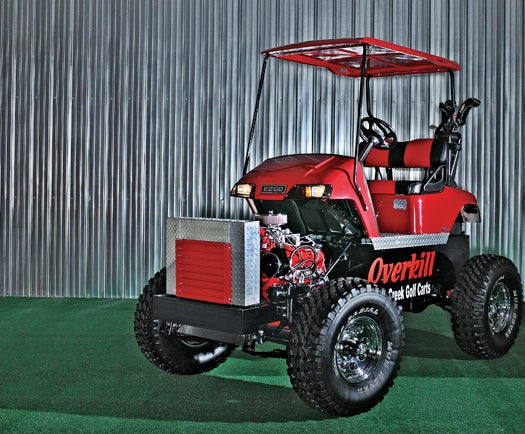 Golf Cart Powered by the Spirit (and Engine) of a Truck