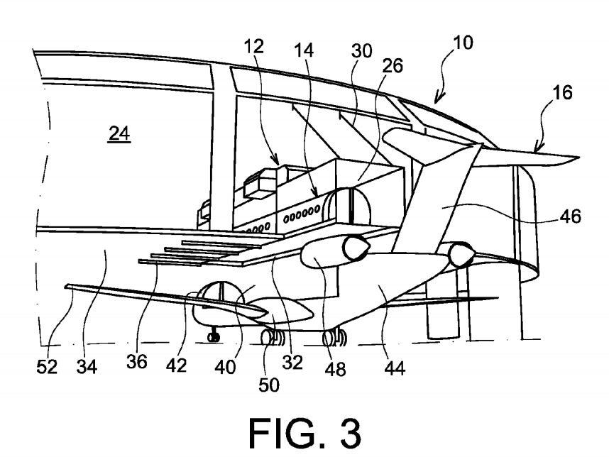 Detail, Airbus Patent