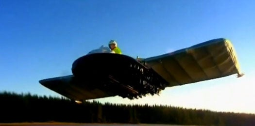 Not Content With Mere Hovering, This Homemade Hybrid Hover-Plane Lifts Off