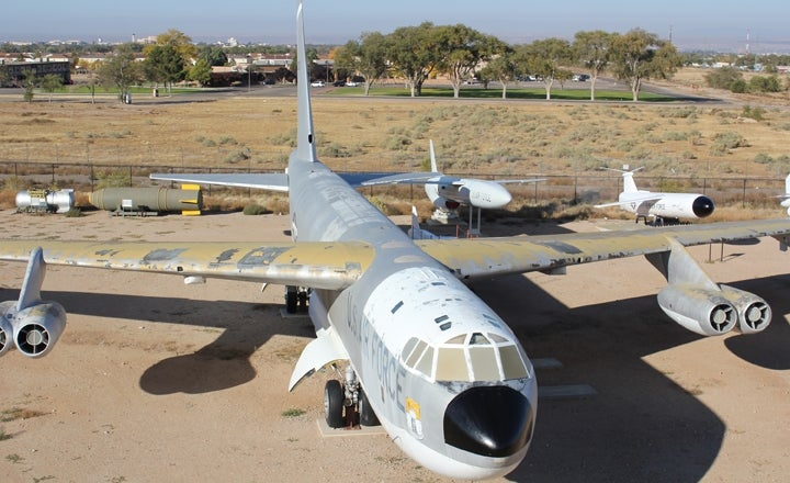 Old B-52B Bomber That Dropped Nukes Saved By Virtual Bakesale