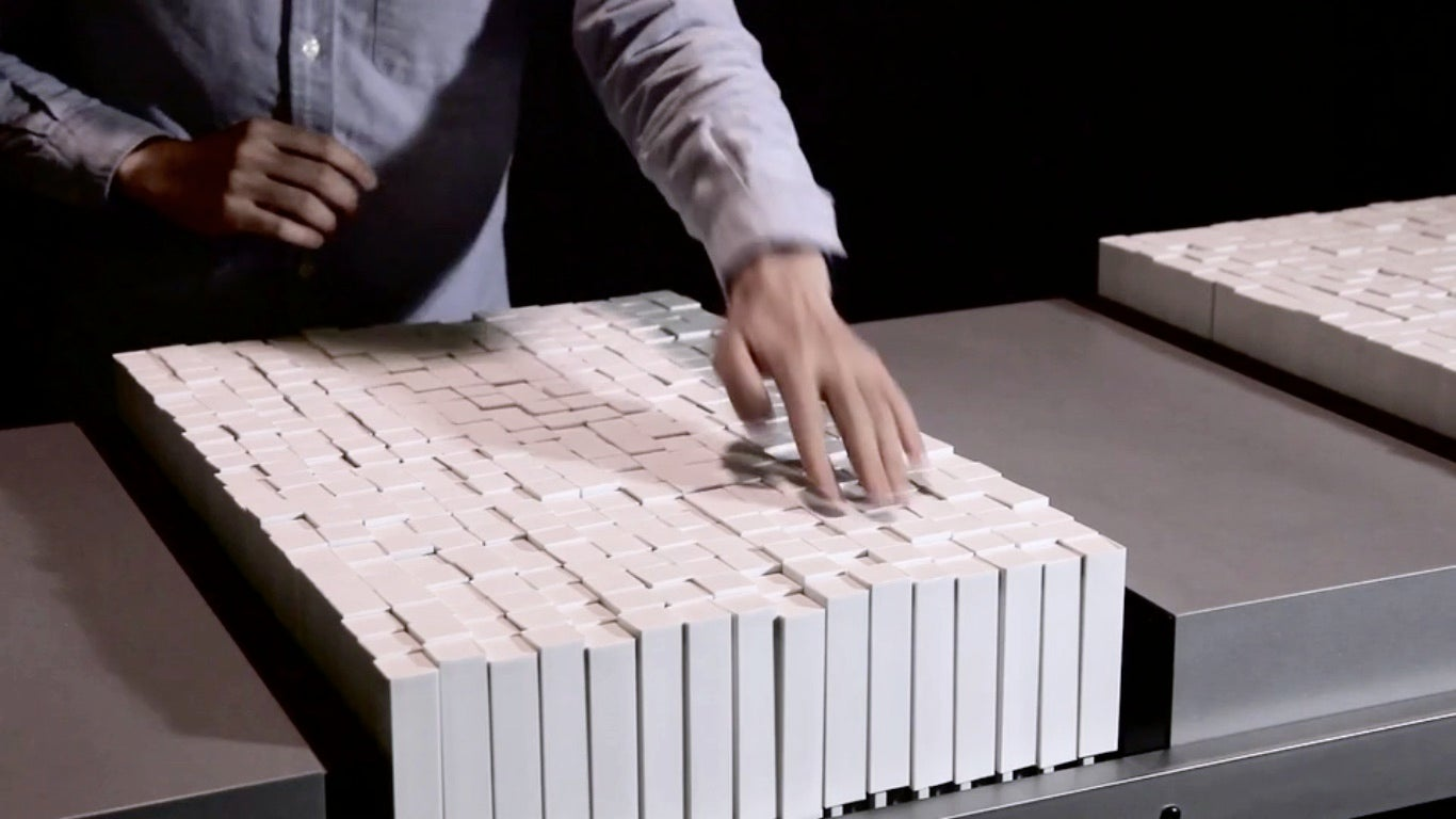 Watch This Interface Replicate The Movements of Water