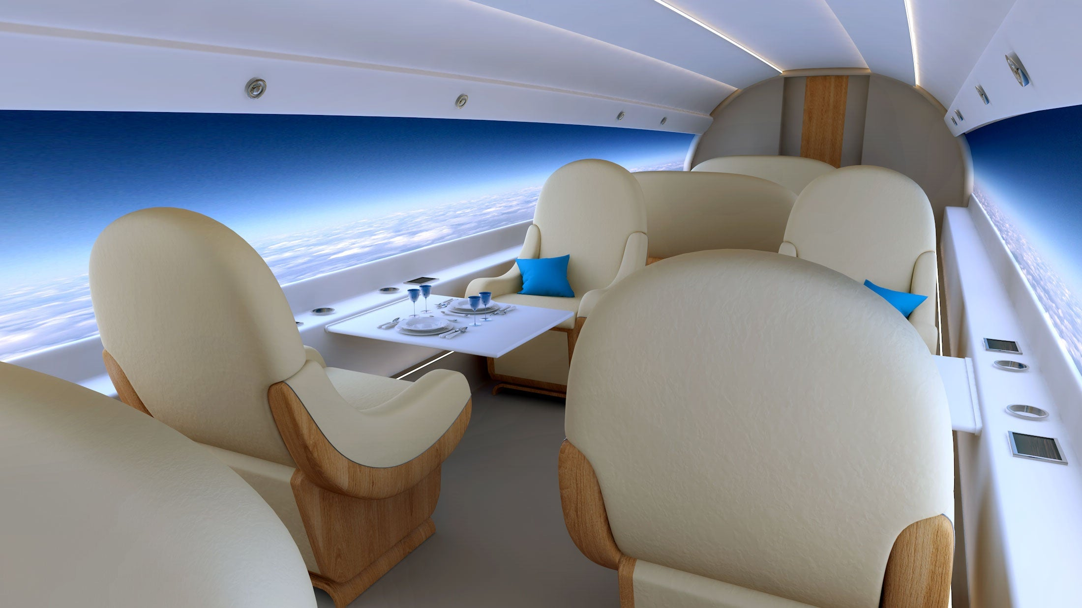 Supersonic Plane Will Have Livestream Of The Outdoors Instead Of Windows