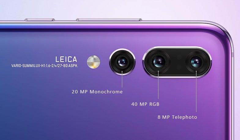 Huawei P20 Pro Smartphone camera