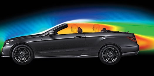 Mercedes' Weatherized Convertible Outwits the Four Seasons
