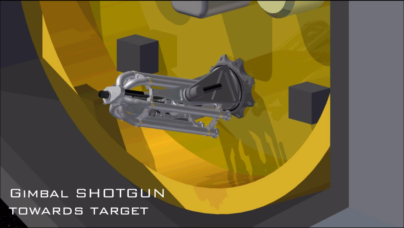 A Space Shotgun To Shoot At Asteroids