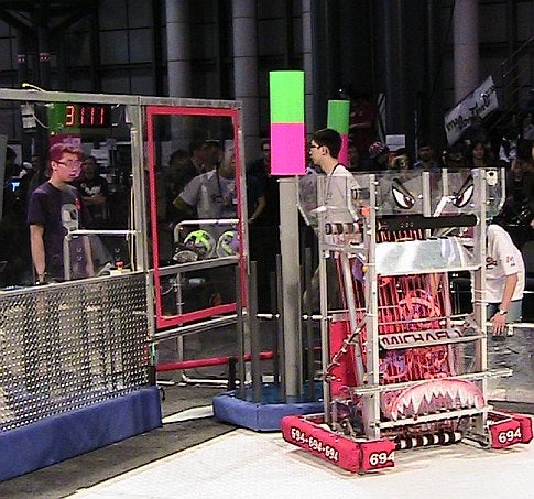 Robotic Adventures at the FIRST Competition