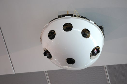 Video-Stitching Surveillance Camera Gives DHS 360-Degree, 100-Megapixel Seamless Views
