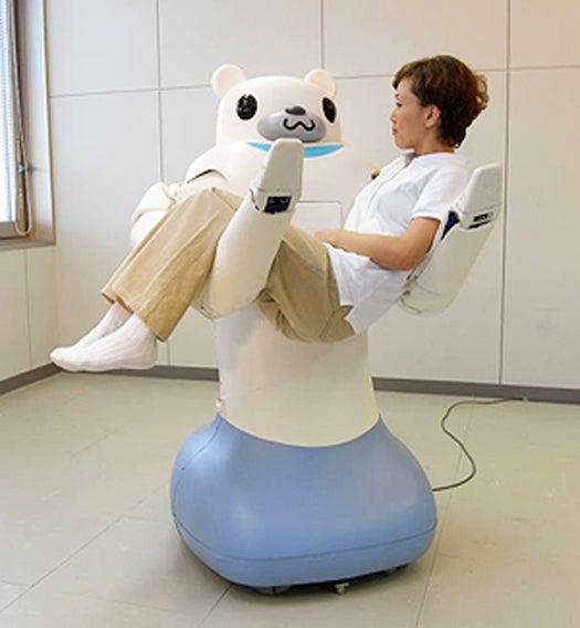 Robotic Bear Nurse To Help The Elderly In Japan